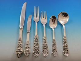 Valdres by Marthinsen Norway Sterling Silver Flatware Set Service 73 pcs Dinner - $6,150.00