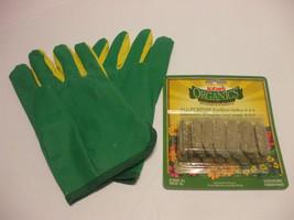 Schultz Ladies Garden Gloves And Jobes Organics Fertilizer Spikes 4-4-4 - $7.92