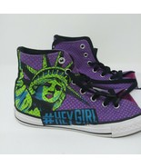Converse All Star Chuck Taylor Statue Of Liberty Youth Purple Pink #HeyG... - $22.98