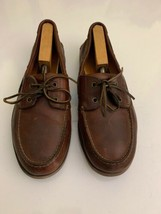 MEN'S TIMBERLAND CLASSIC 2-EYE BURGUNDY BOAT SHOES SIZE 11.5 M - $24.74