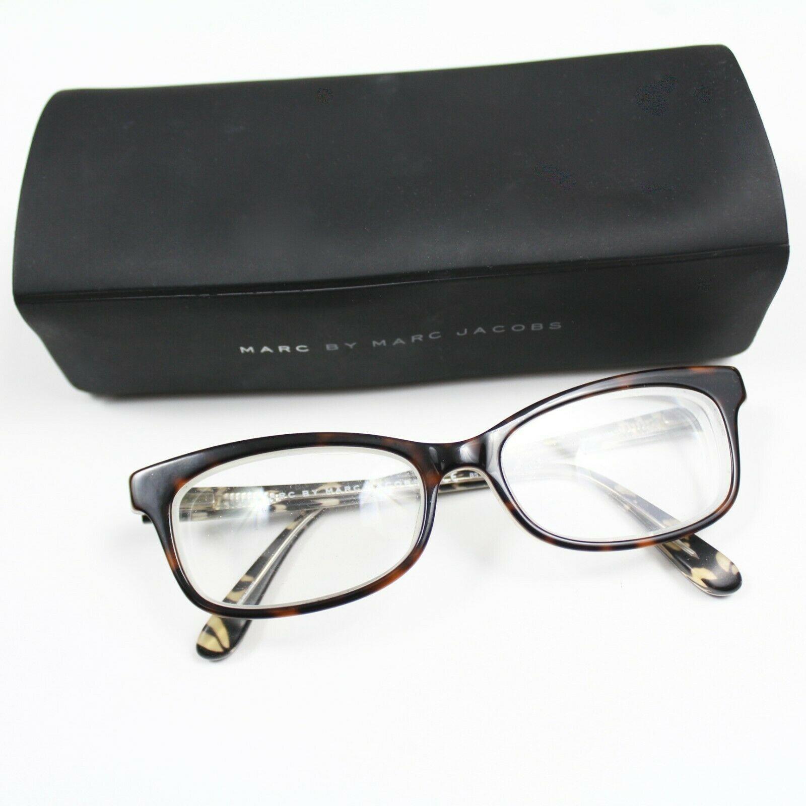 Marc by Marc Jacobs MMJ 486 OA3 Tortoise RX Eyeglasses Frames 52 16 135 Case - $69.29