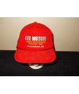 Vtg-1990s Lee Motore Buick Oldsmobile Pontiac GMC Mn Seil Snapback Kappe... - $27.69