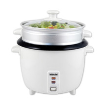 Better Chef Rice Cooker with Food Steamer Attachment - $54.89