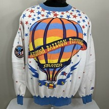 Vintage Starter Sweatshirt Arizona Balloon Festival All Over Print Crewn... - $319.99