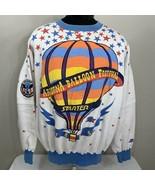 Vintage Starter Sweatshirt Arizona Balloon Festival All Over Print Crewneck XL - $319.99