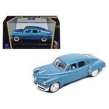 1948 Tucker Light Blue Signature Series 1/43 Diecast Model Car by Road Signature - $24.81