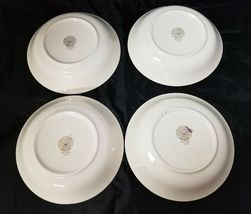 The French Saxon China Co Soup Salad Bowls Set of 4, 22kt Gold, Pottery Made USA image 8