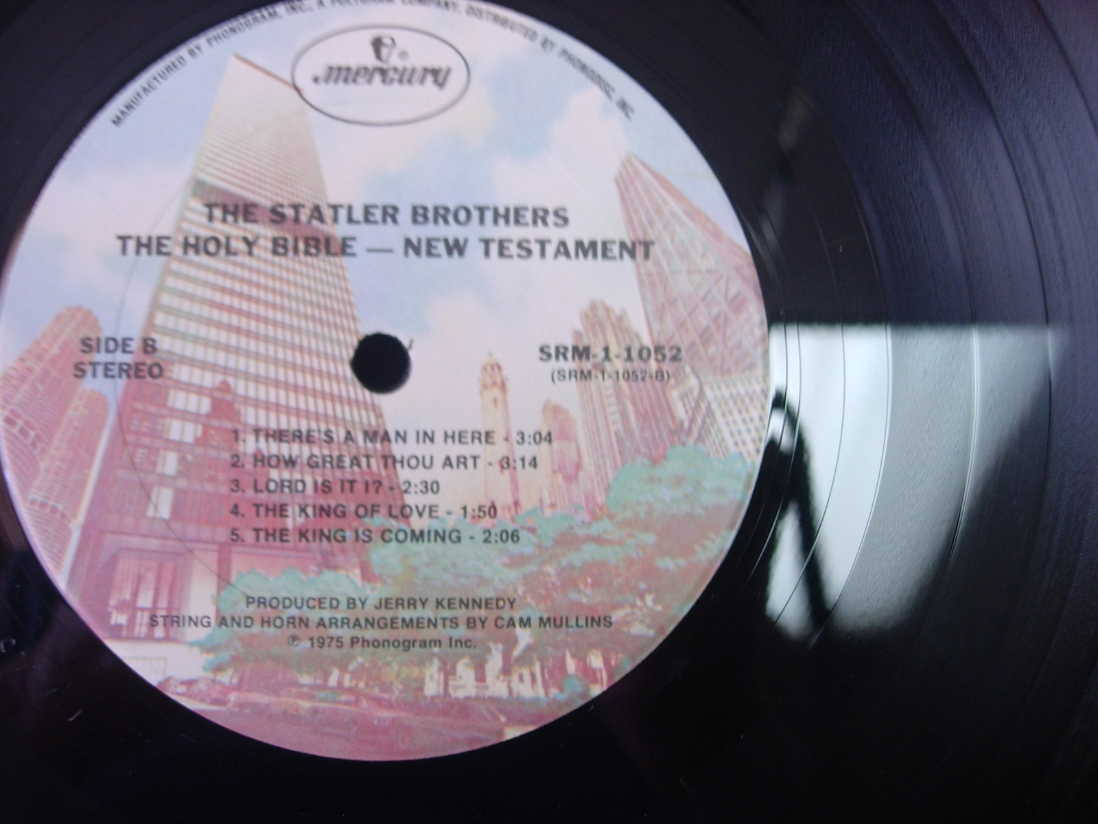 Statler Brothers - Holy Bible New Testament - Mercury Records SRM 1-1052