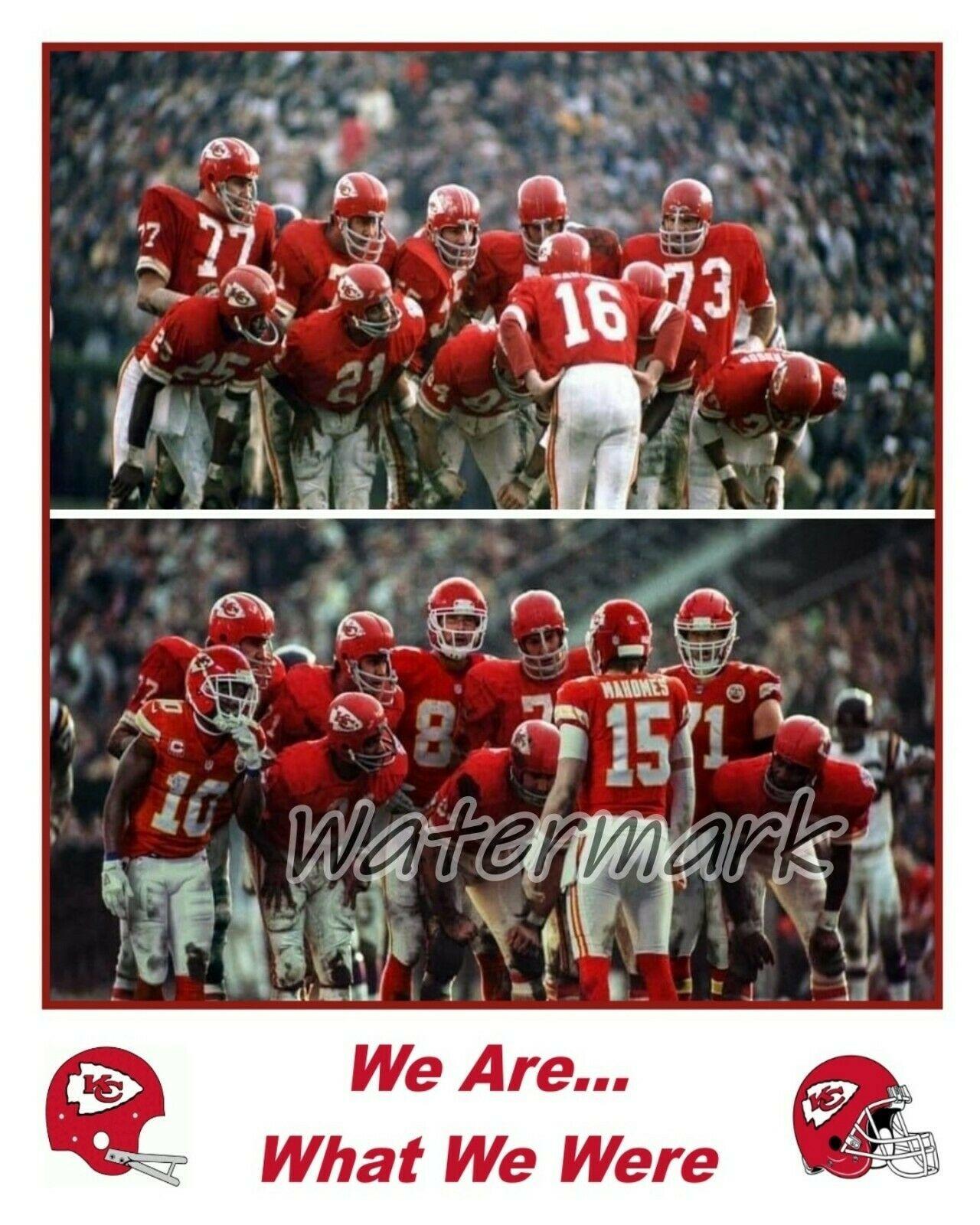 NFL Kansas City Chiefs Super Bowl Champs 1969 - 2019 Color 8 X 10 Photo Picture - $5.99