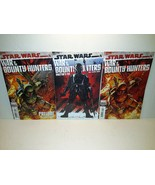 STAR WARS: WAR OF THE BOUNTY HUNTERS - 3 COVERS/VARIANT/DIRECTORS CUT - $28.05
