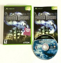 Disney's The Haunted Mansion (Microsoft Xbox, 2003) - Complete with Manual - $9.49