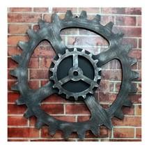 Loft Industrial Style Gear Wall Hanging Decoration    diameter 50cm - $67.31