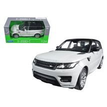 Range Rover Sport White 1/24 Diecast Model Car by Welly 24059w - $31.10