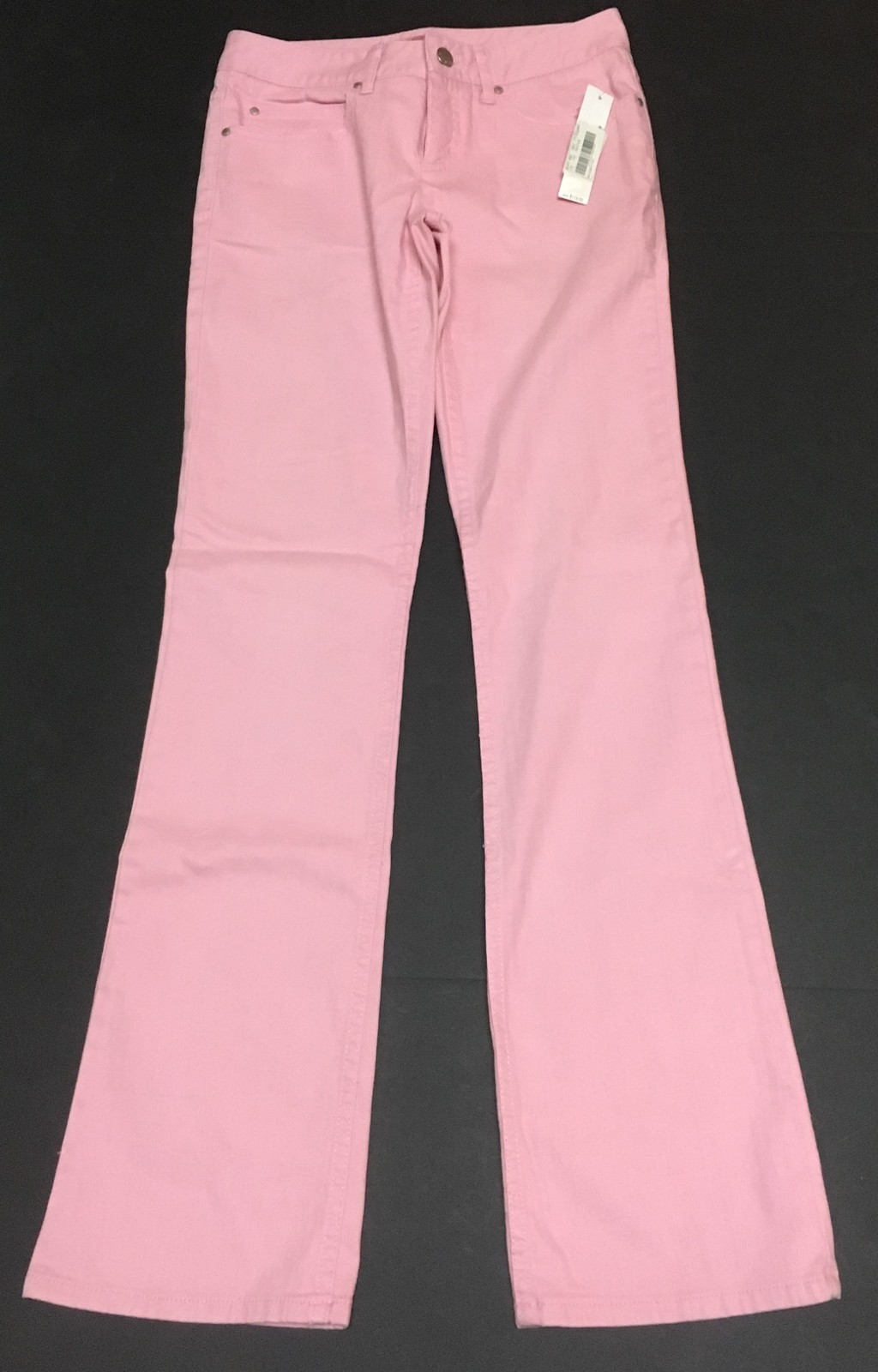 """Gianni Bini Bubble Gum Pink Jeans Juniors Sz 0 (26"""" x 31"""")"""