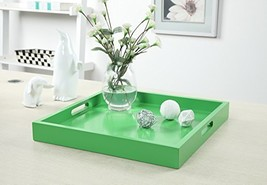 Convenience Concepts Palm Beach Serving Tray, Green - $37.70