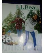 LL BEAN L.L. BEAN Christmas-Winter 2017 CATALOG BEAN OUTSIDER - $4.94