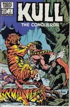 Kull The Conqueror #1 - May 1983 - Marvel Comics Group - Eye of the Tigress. - $0.97