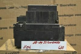 03-04 Chevrolet Silverado Fuse Box Junction OEM Module 15058032 620-11b6 - $29.99