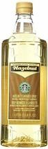 Fresh  Starbucks Hazelnut Syrup, 33.8 fl oz (1-L.) - $78.20