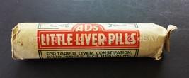 c1910 antique UNUSED quack medicine AMERICAN DRUGGIST LIVER  bottle pills  - $47.50