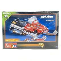 Wrebbit Puzz 3D SKI-DOO Snowmobile Puzzle New - $39.34