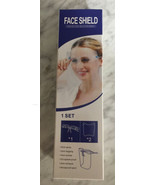 (2) Face shield protective isolation mask. New In Box. - $9.99