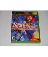 Dance Dance Revolution Ultramix 2 (Xbox, 2004) COMPLETE - $4.74