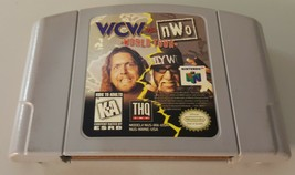 N) WCW vs. NWO World Tour (Nintendo 64, 1997) Video Game Cartridge Wrestling WWE - $4.94