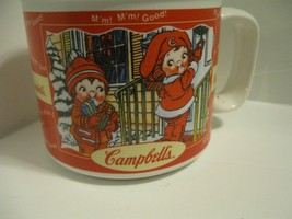 1998 Campbell's Kids Soup Collectors Mug Bowl HH Vtg Winter Fall M'm! M'... - $11.29