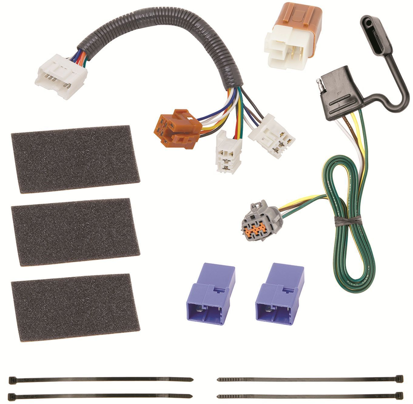 2009-2012 suzuki equator trailer hitch wiring kit harness ... 2012 suzuki equator trailer wiring