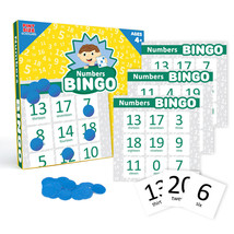 NUMBERS BINGO - Fun - Valuable Learning Tool - Develop skills - NEW - $9.99