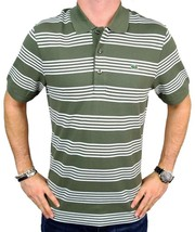Lacoste Men's Premium Sport Athletic Cotton Polo Shirt T-Shirt Safari size 2XL