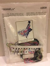Design Works Hoopla Dancing Woman Crafts Cross Stitch Kit  #2539 NIP - $14.01