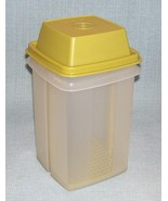 Vtg Tupperware Pickle Keeper SheerContainer w Avocado Seal 1330 1331 13... - $6.95