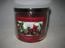 Bath and Body Works Slatkin & Co. SPICE Scented Candle 14.5 OZ - $100.00