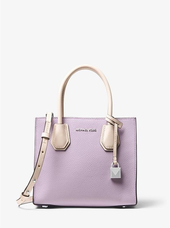 Primary image for Michael Kors Mercer Colorblock Leather Crossbody Handbag Crossbody NWT