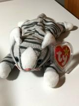 "384 TY Beanie Babies ""Prance"" Gray Tiger 1997 - $8.90"