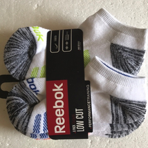 Reebok LowCut Training Ankle Socks 7-8.5 - $18.00