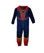 Marvel Avengers Spider-Man Costume Jumpsuit w/Hood Size 8 Kids Multicolor - $30.37