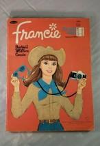 Mattel's Francie Barbie's MODern Cousin Whitman 1968 Vintage Coloring Book - $19.79