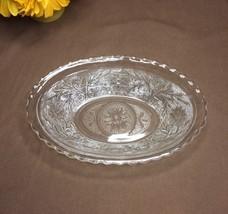 KIG Indonesia Vintage Clear Glass Oval Serving Bowl  - $12.00