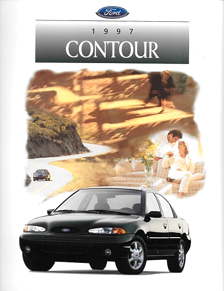 Primary image for 1997 Ford CONTOUR sales brochure catalog 97 US LX SE