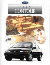 1997 Ford CONTOUR sales brochure catalog 97 US LX SE - $6.00