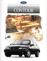 1997 Ford CONTOUR sales brochure catalog 97 US LX SE - $7.00