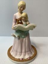 Vintage Heritage House 1988 My Mother's Love Fine Porcelain Figurine  Storytime - $11.83