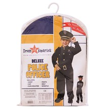 Dress Up America Deluxe Police Dress Up Costume Set - Includes Shirt, Pa... - $41.69