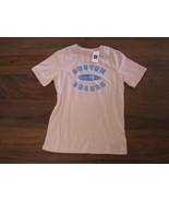 GAP Kids Girls T-shirt Top S 6 7 Short Sleeve Crew Neck Light Pink Graph... - $14.84