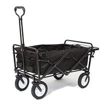 Mac Sports Collapsible Folding Outdoor Utility Wagon with Side Table - B... - $146.23