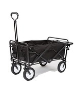 Mac Sports Collapsible Folding Outdoor Utility Wagon with Side Table - B... - $132.22