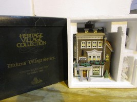 DEPT 56 57509 CROWN & CRICKET INN  HERITAGE VILLAGE  BOXED  D4 - $22.49